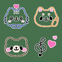 簡單多彩★動物Ⅱ