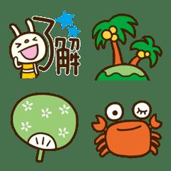 Summer Forecast rabbit Emoji
