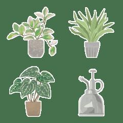 Foliage plant emoji 2