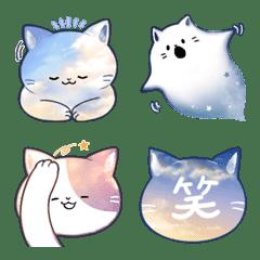Sky cat emoji