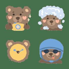 อิโมจิไลน์ Furry bear