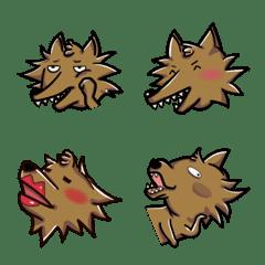 อิโมจิไลน์ Unique Big Wolf