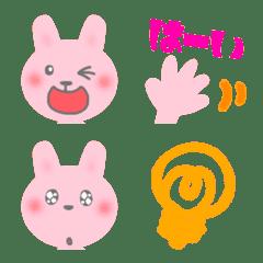 Rabbit,face emoji