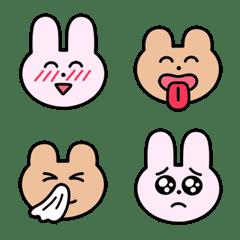 Usagi and Kuma Emoji