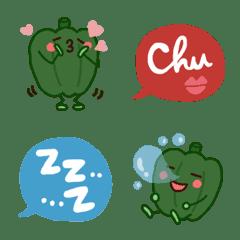 everyday!Cute peppers Emoji!