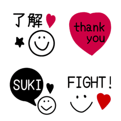 Fashionable and usable emoji