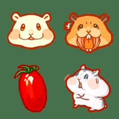 倉鼠的表情包跟倉鼠的食物