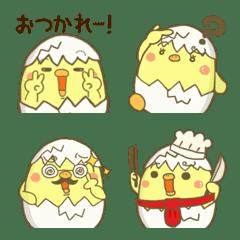 piyokichi everyday emoji Ver.1