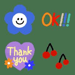 Kawaii  emoji  set