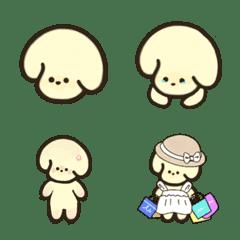 Toy poodle cute Emoji