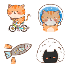 อิโมจิ แมวอ้วน - แก๊งก้อน