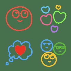 simple colorful smile emoji