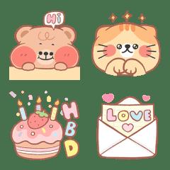 ONNIE BEAR Animated Emoji