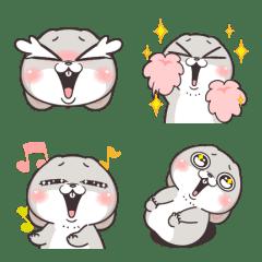 อิโมจิไลน์ Very Miss Rabbit Emoji 3
