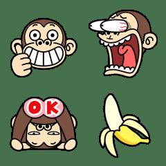 瘋狂的猴子★動態表情貼