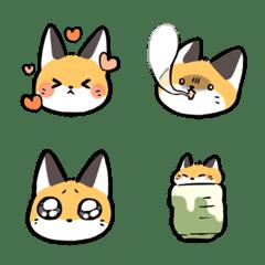 Short-legged fox Emoji