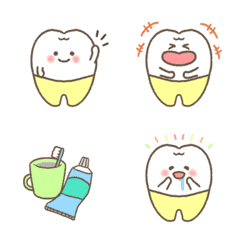 Dental molar emoji