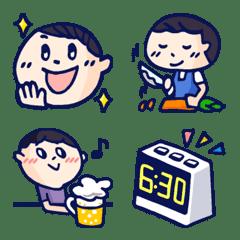 Happy&cute emoji 2