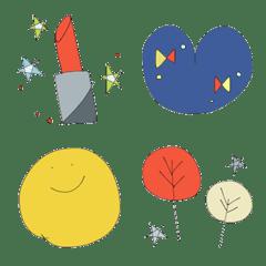 Scandinavian style -Emoji-