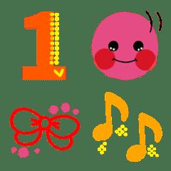 Numbers + convenient Emoji3