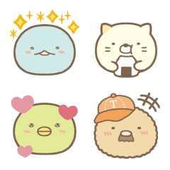 Sumikkogurashi Emoji Vol. 3