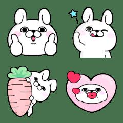 Rabbit100% 動態表情貼