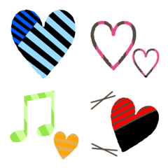 Cute Emoji full of hearts8