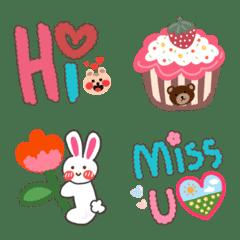 Emoji : Cute lines design