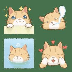 貓咪日和 動動表情貼