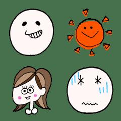 อิโมจิไลน์ Miyuma's cute emoji