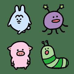 各種動物和奇怪生物的表情符號