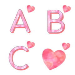 pink heart emoji original