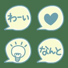 Reaction balloon Emoji