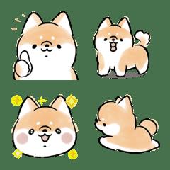 移動的小狗表情符號