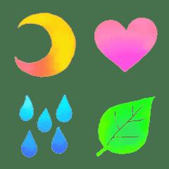 Emoji that gradually change...