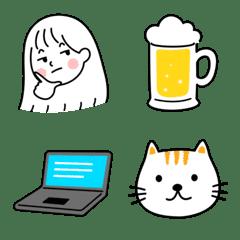 minimal G  emoji