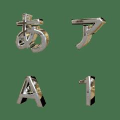 swing gothic emoji (metal)