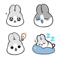 อิโมจิไลน์ Machiko Rabbit อิโมจิแอนิเมชัน
