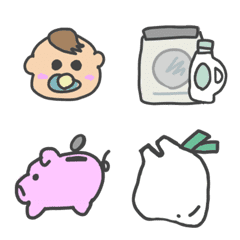 Housewife Everyday Emoji