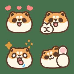米犬日常動態表情貼