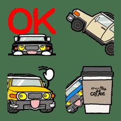 Nobu's off-road vehicle...