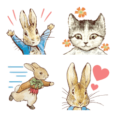 Peter Rabbit Animated Emoji