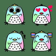 อิโมจิไลน์ colorful_bird