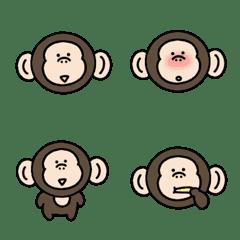 Surreal mini monkey moving Emoji