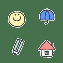 simple cute Movie Emoji #1