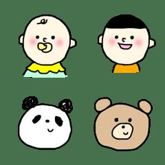 อิโมจิไลน์ family stamp1