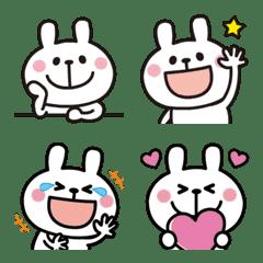 It works! Rabbit's emoji