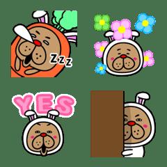 """Move! The """"Usa Oji"""" Emoji."""