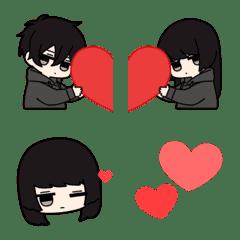 Low tension couple Animation Emoji