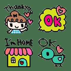cute simple english emoji130